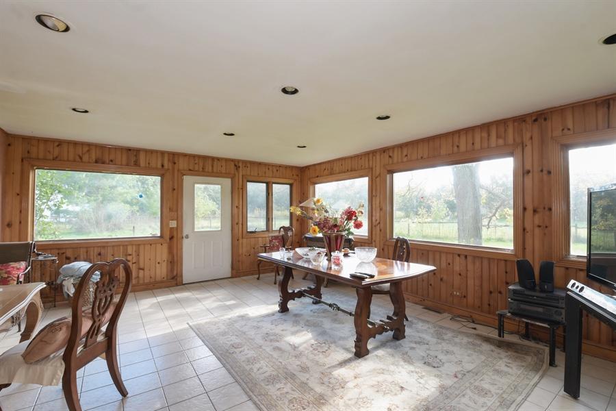 Real Estate Photography - 1555 Half Day Road, Bannockburn, IL, 60015 - Family Room