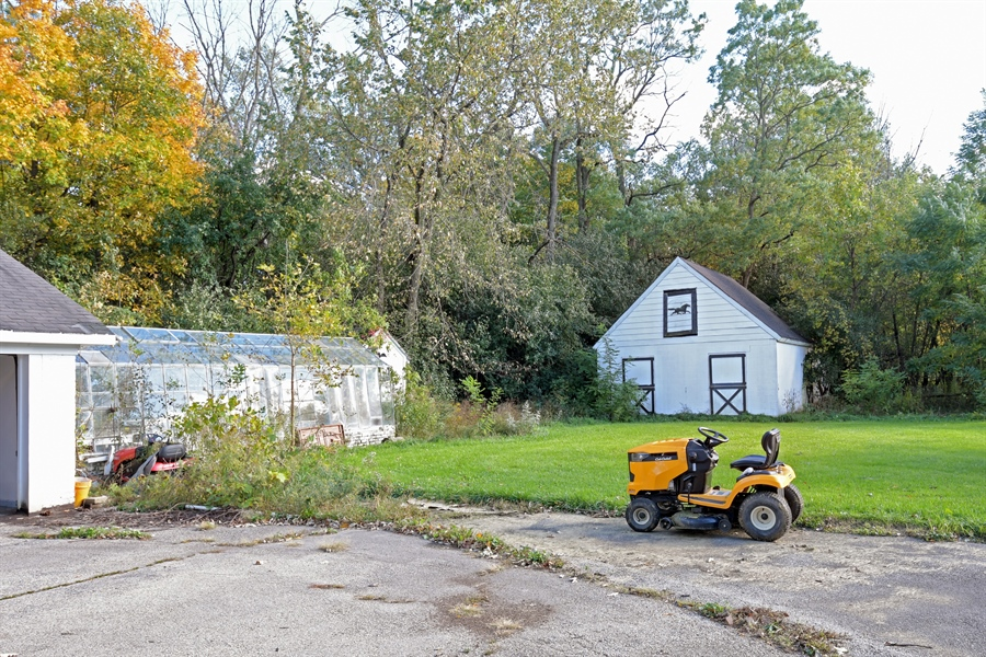 Real Estate Photography - 1555 Half Day Road, Bannockburn, IL, 60015 - Rear View