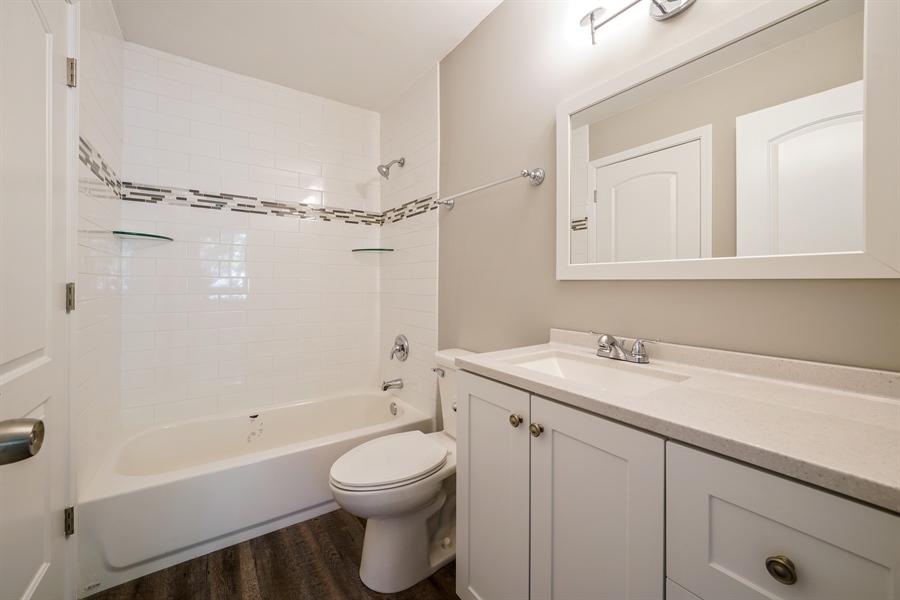 Real Estate Photography - 313 Beechwood Drive, Romeoville, IL, 60446 - Master Bathroom