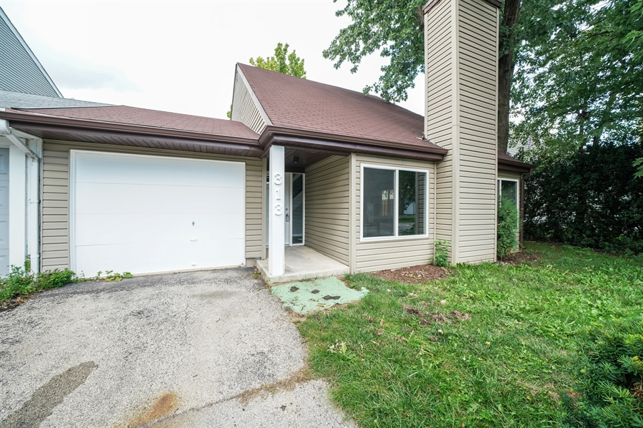 Real Estate Photography - 313 Beechwood Drive, Romeoville, IL, 60446 - Front View