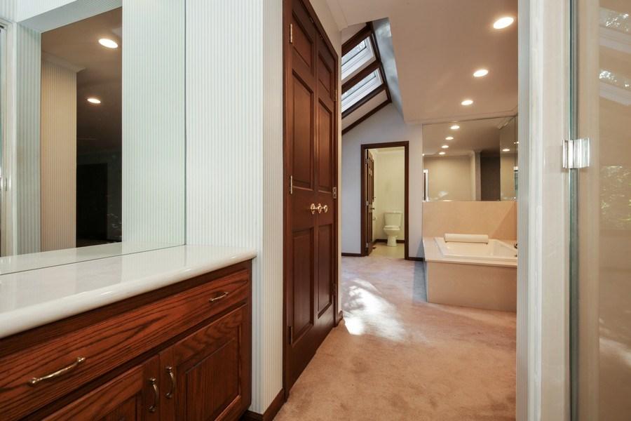 Real Estate Photography - 127 Hidden Oaks Dr, Barrington, IL, 60010 - Master Bathroom