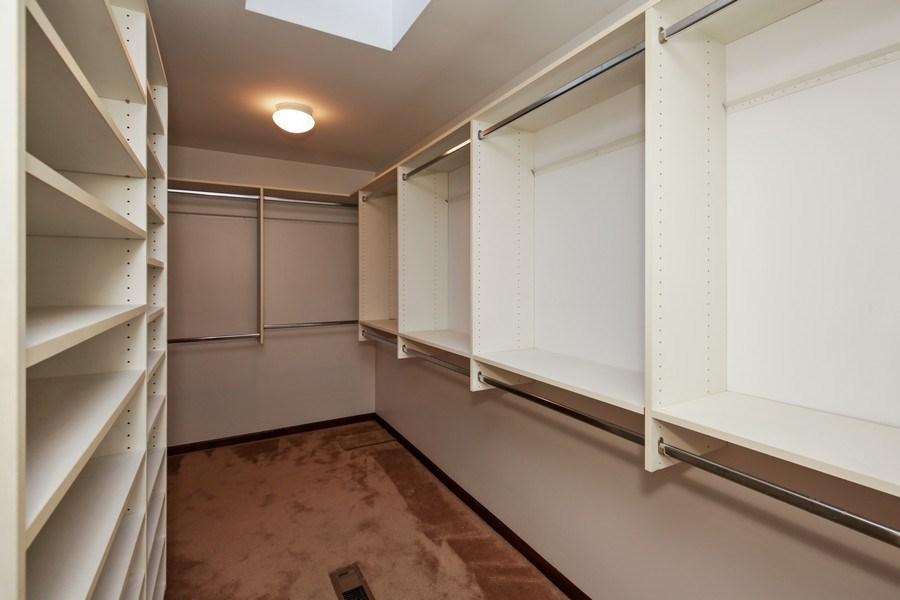Real Estate Photography - 127 Hidden Oaks Dr, Barrington, IL, 60010 - Master Bedroom Closet