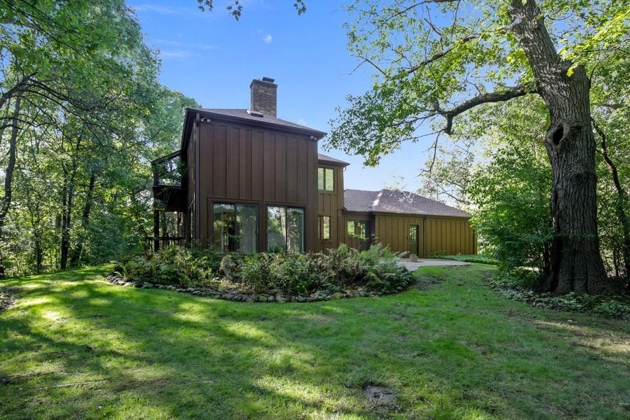 Real Estate Photography - 127 Hidden Oaks Dr, Barrington, IL, 60010 - Rear View