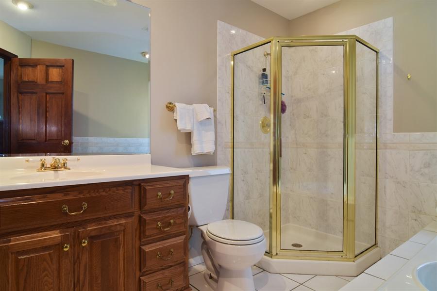 Real Estate Photography - 2 Juniper Road, Rolling Meadows, IL, 60008 - Master Bathroom