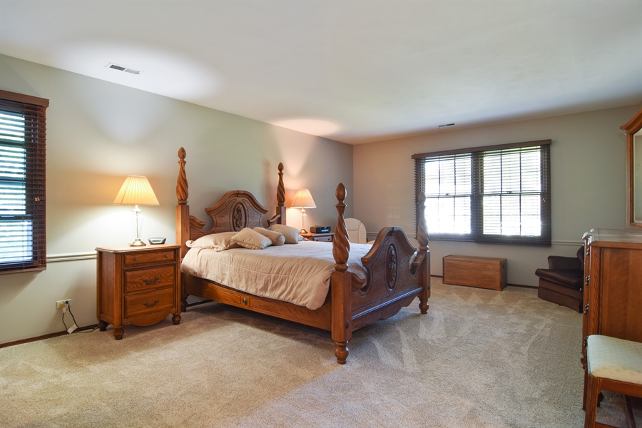 Real Estate Photography - 2 Juniper Road, Rolling Meadows, IL, 60008 - Master Bedroom
