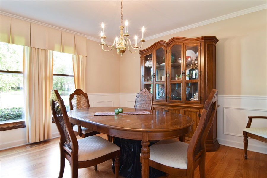 Real Estate Photography - 2 Juniper Road, Rolling Meadows, IL, 60008 - Dining Room