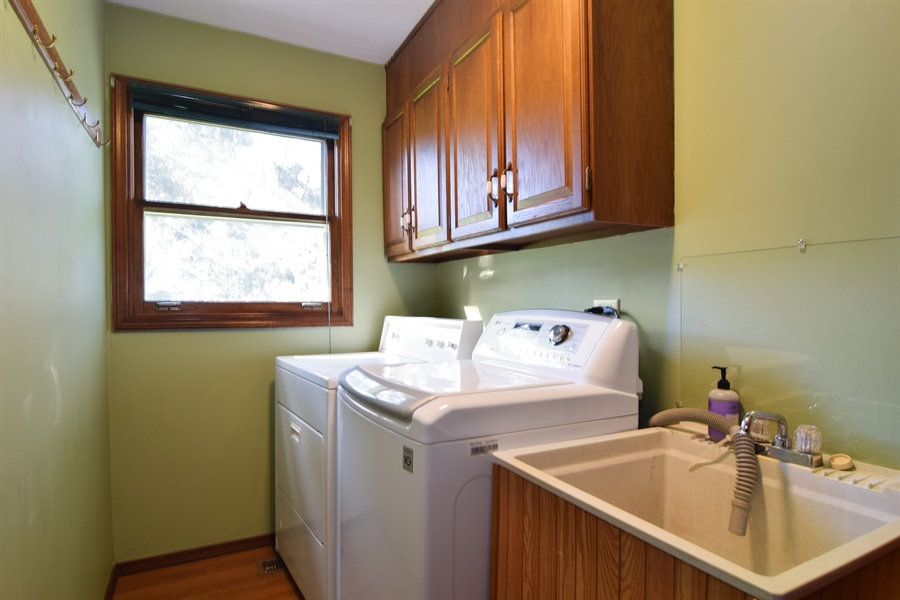 Real Estate Photography - 2 Juniper Road, Rolling Meadows, IL, 60008 - Laundry Room