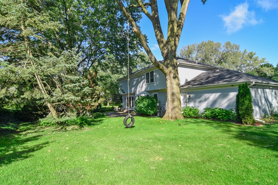Real Estate Photography - 2 Juniper Road, Rolling Meadows, IL, 60008 - Rear View