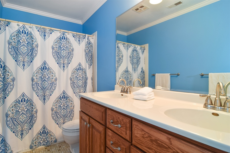 Real Estate Photography - 2 Juniper Road, Rolling Meadows, IL, 60008 - Bathroom