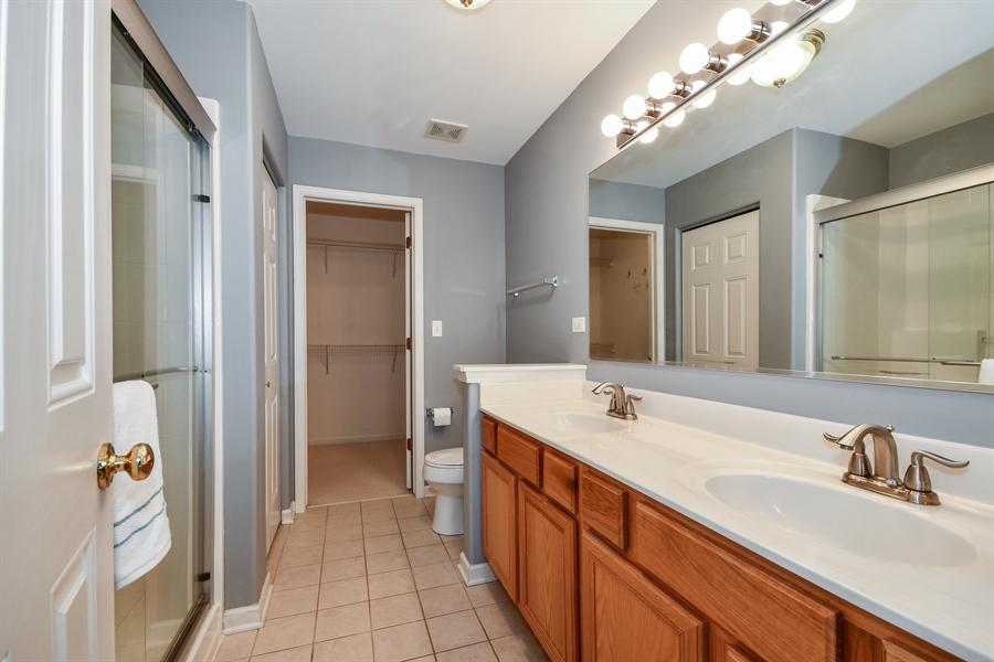Real Estate Photography - 426 Wolcott Lane, Batavia, IL, 60510 - Master Bathroom