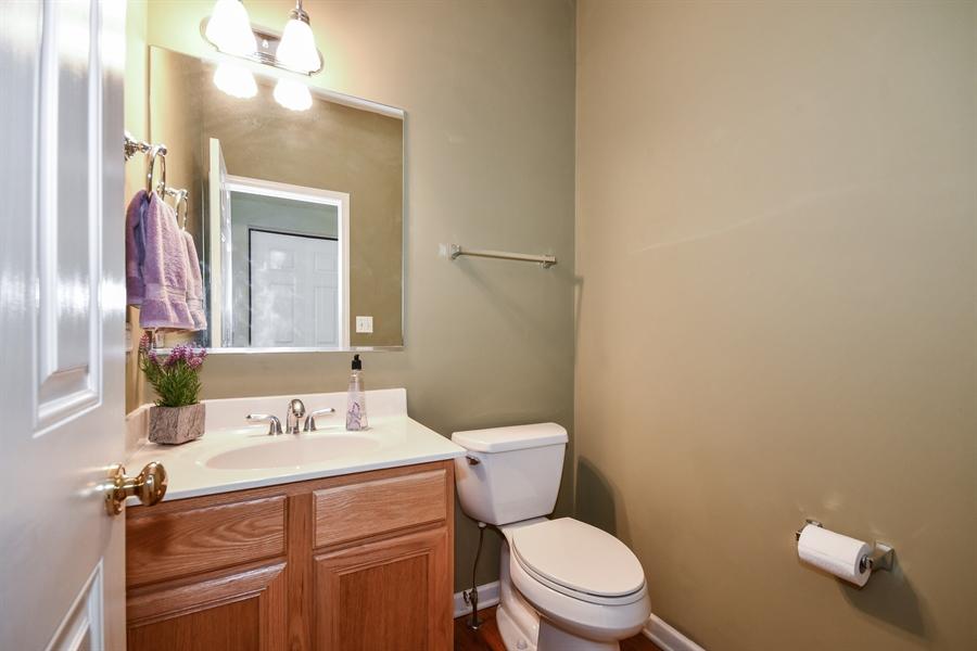 Real Estate Photography - 426 Wolcott Lane, Batavia, IL, 60510 - Half Bath