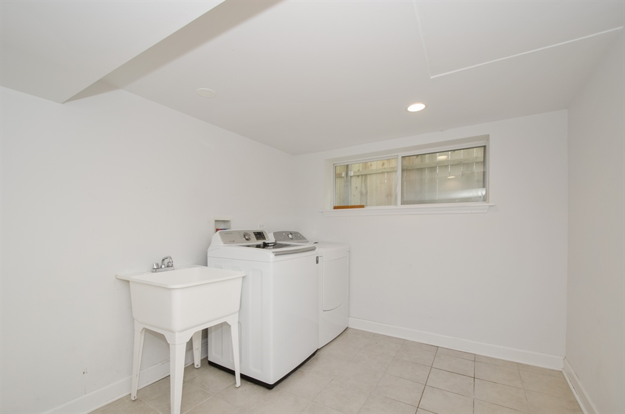 Real Estate Photography - 4944 W. CULLOM Avenue, Chicago, IL, 60641 - Laundry Room