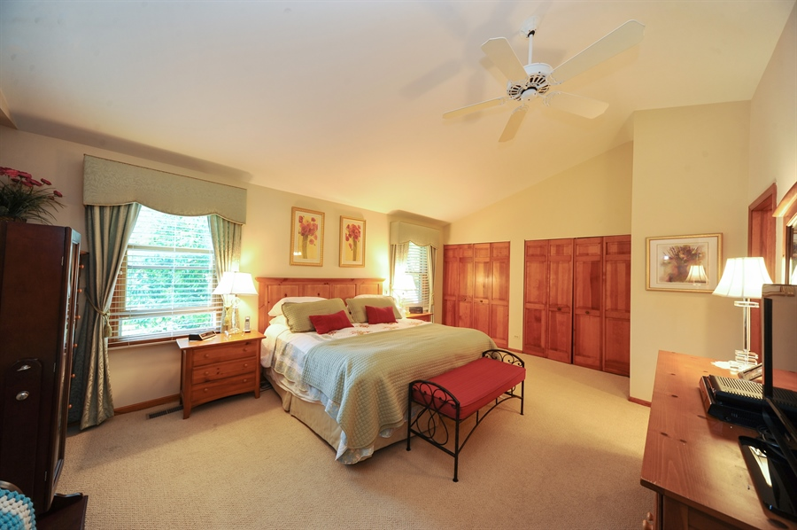 Real Estate Photography - 1315 W. Kingsley Drive, Arlington Heights, IL, 60004 - Master Bedroom