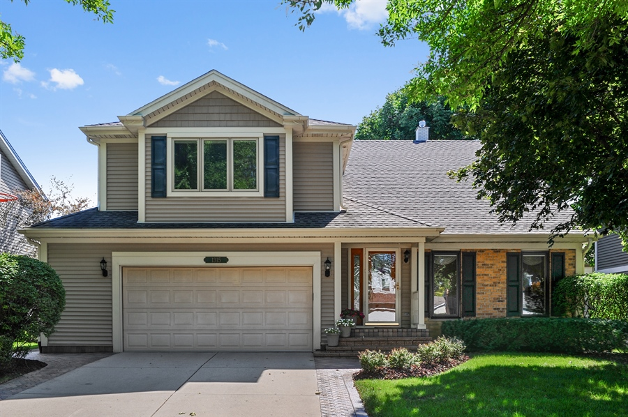 Real Estate Photography - 1315 W. Kingsley Drive, Arlington Heights, IL, 60004 - Front View