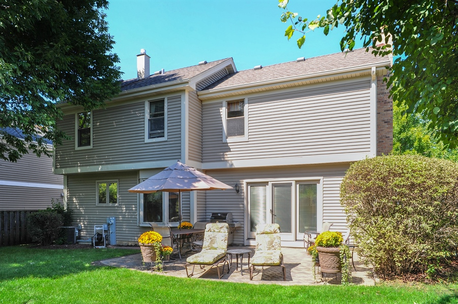 Real Estate Photography - 1315 W. Kingsley Drive, Arlington Heights, IL, 60004 - Rear View