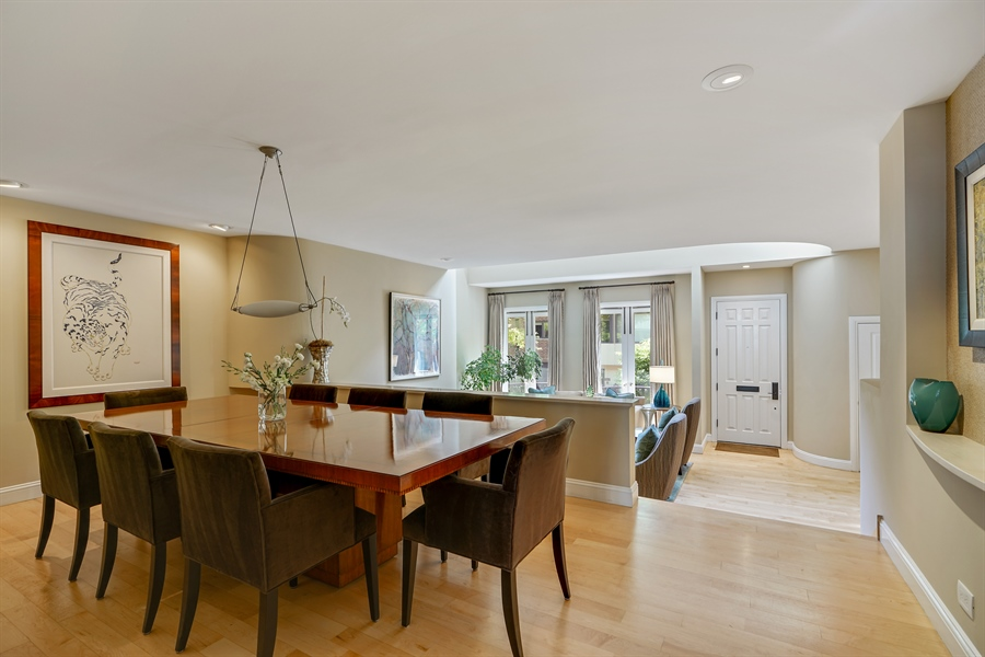 Real Estate Photography - 1329 N. Sutton Place, Chicago, IL, 60610 - Dining Room