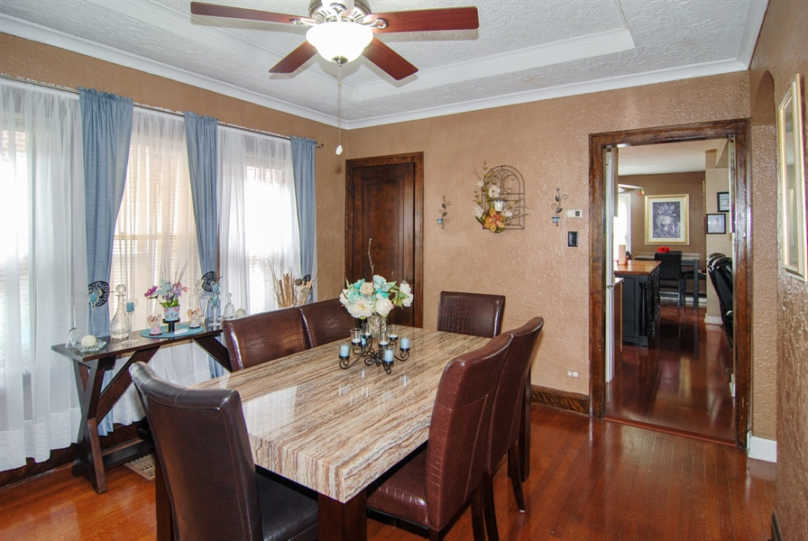 Real Estate Photography - 7038 35th Street, Berwyn, IL, 60402 - Dining Room