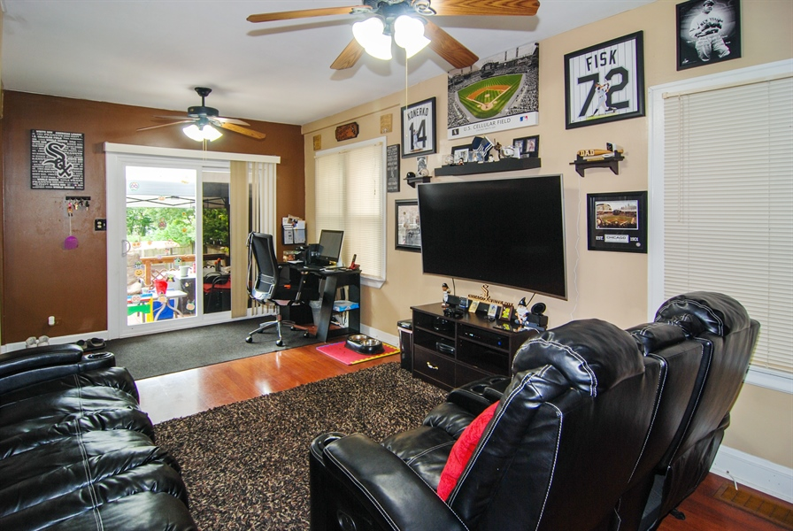 Real Estate Photography - 7038 35th Street, Berwyn, IL, 60402 - Family Room