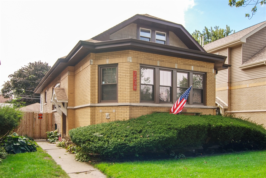 Real Estate Photography - 7038 35th Street, Berwyn, IL, 60402 - Front View
