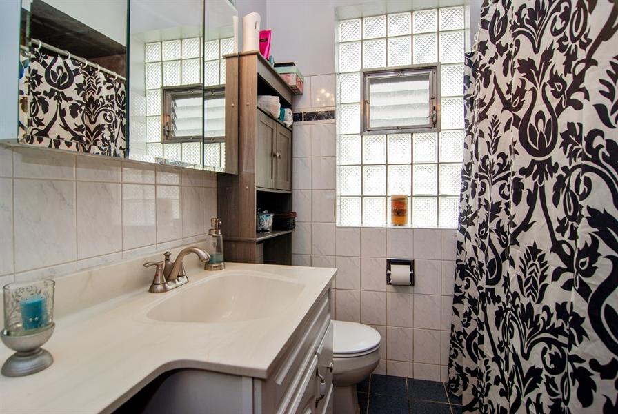 Real Estate Photography - 7038 35th Street, Berwyn, IL, 60402 - Bathroom