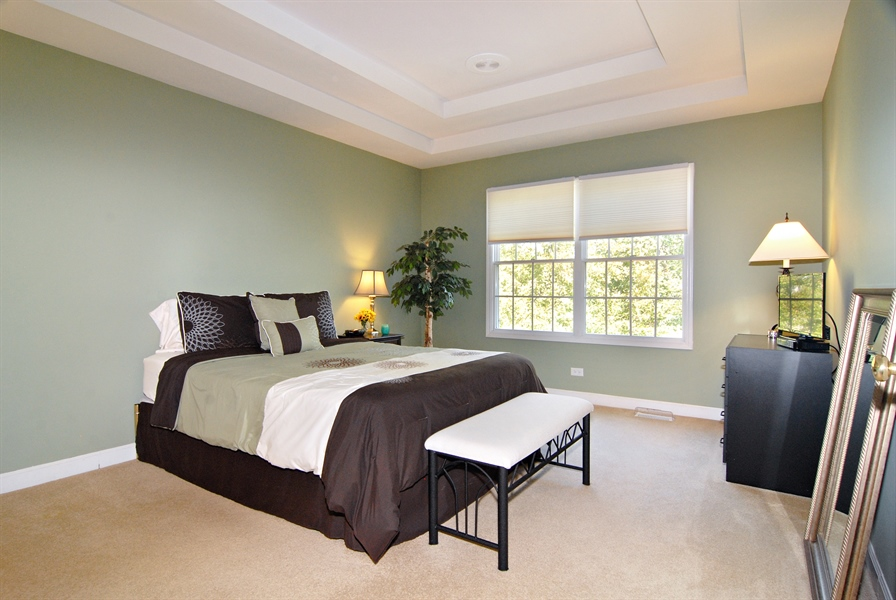 Real Estate Photography - 2300 Brookside Court, Aurora, IL, 60502 - Master Bedroom