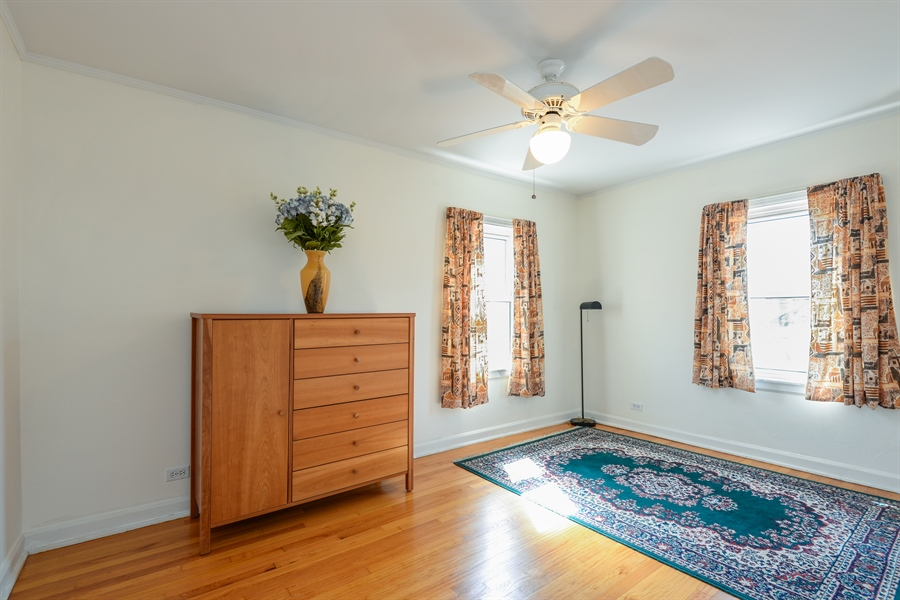 Real Estate Photography - 6210 N. Keeler Avenue, Chicago, IL, 60646 - 2nd Bedroom