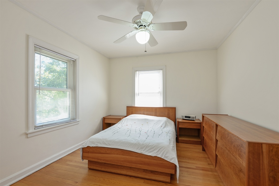 Real Estate Photography - 6210 N. Keeler Avenue, Chicago, IL, 60646 - Bedroom