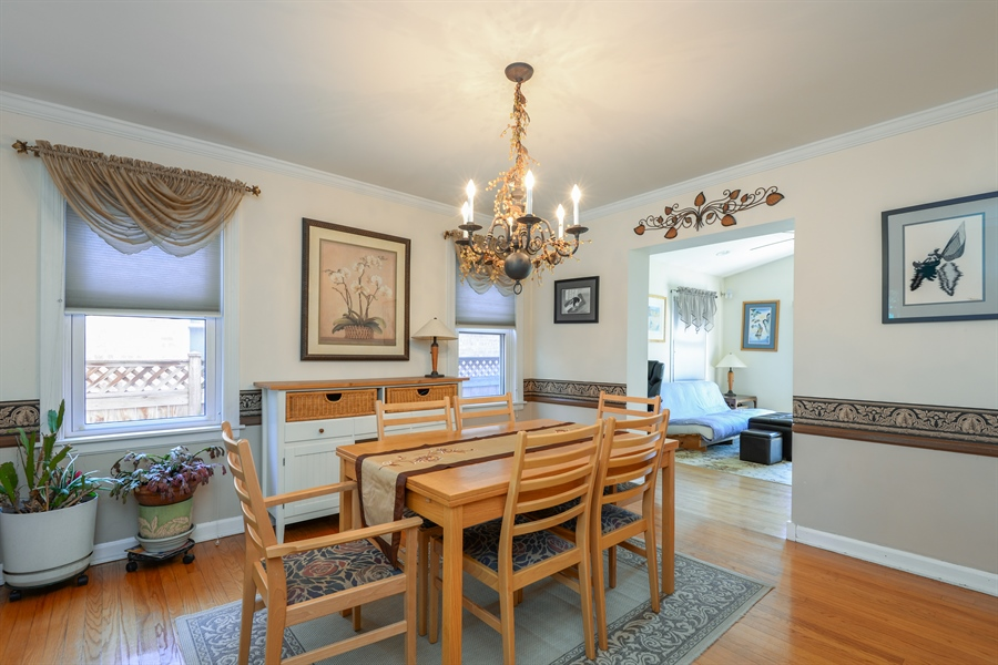 Real Estate Photography - 6210 N. Keeler Avenue, Chicago, IL, 60646 - Dining Room