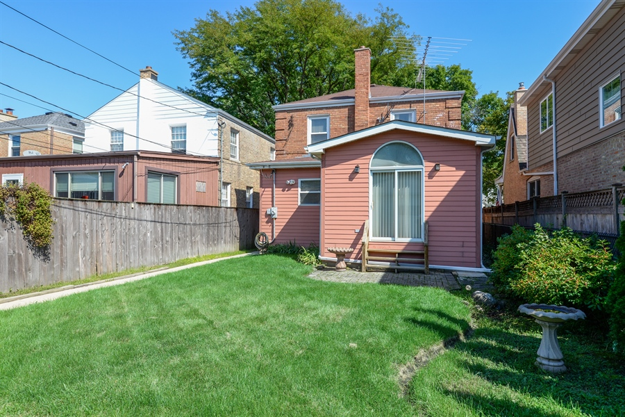 Real Estate Photography - 6210 N. Keeler Avenue, Chicago, IL, 60646 - Back Yard