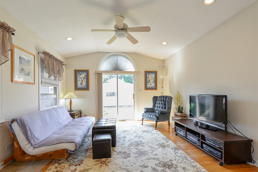 Real Estate Photography - 6210 N. Keeler Avenue, Chicago, IL, 60646 - Family Room