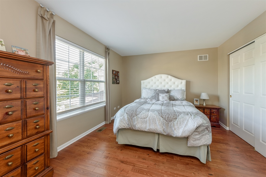 Real Estate Photography - 318 Berkshire Drive, Unit 318, Lake Villa, IL, 60046 - 2nd Bedroom