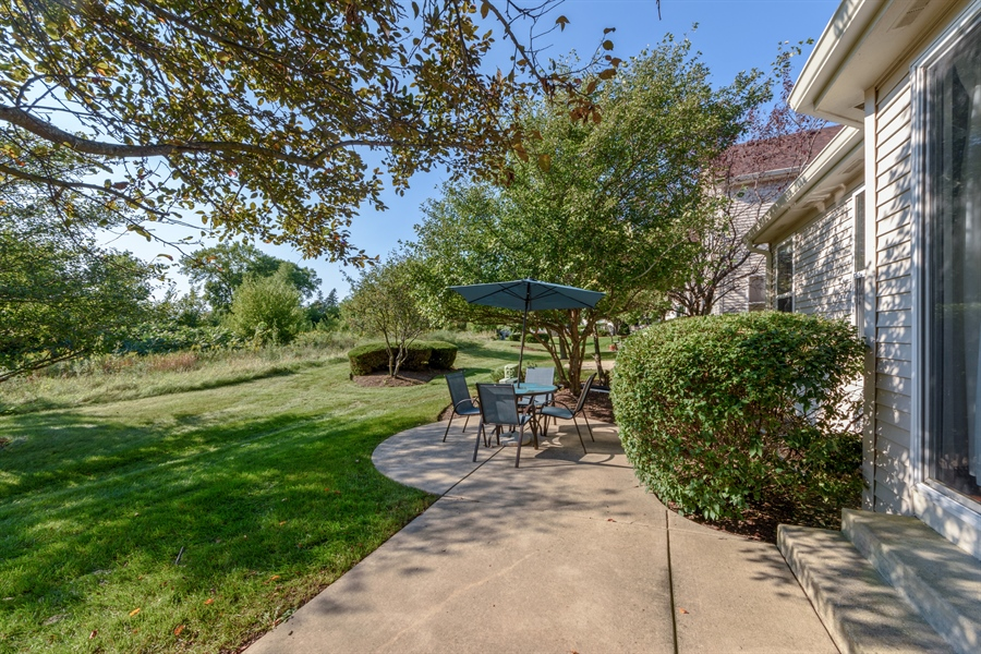 Real Estate Photography - 318 Berkshire Drive, Unit 318, Lake Villa, IL, 60046 - Patio