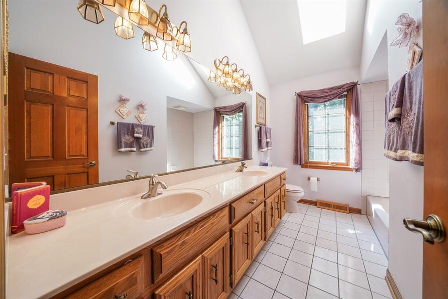 Real Estate Photography - 1278 Keim Trail, Bartlett, IL, 60103 - 3rd Bathroom