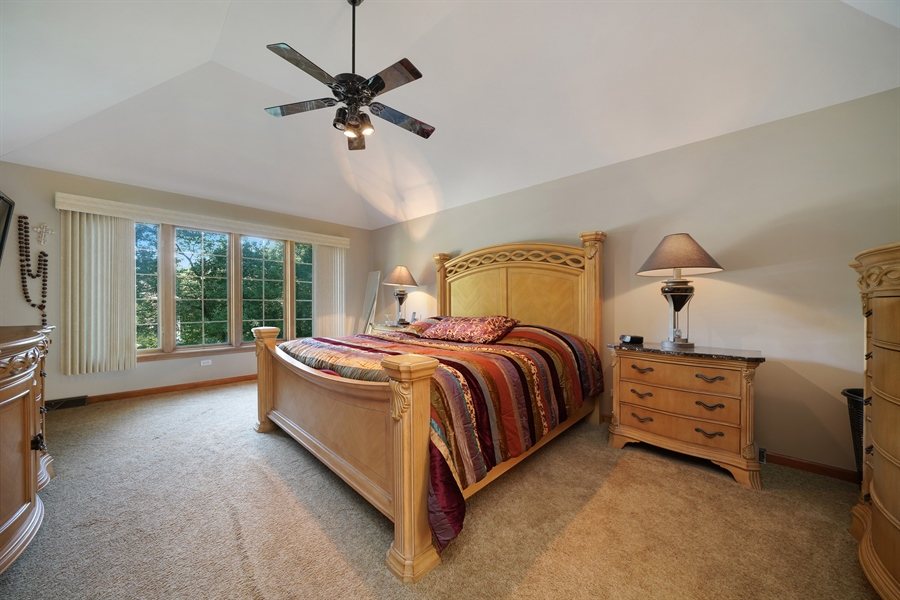 Real Estate Photography - 1278 Keim Trail, Bartlett, IL, 60103 - Master Bedroom
