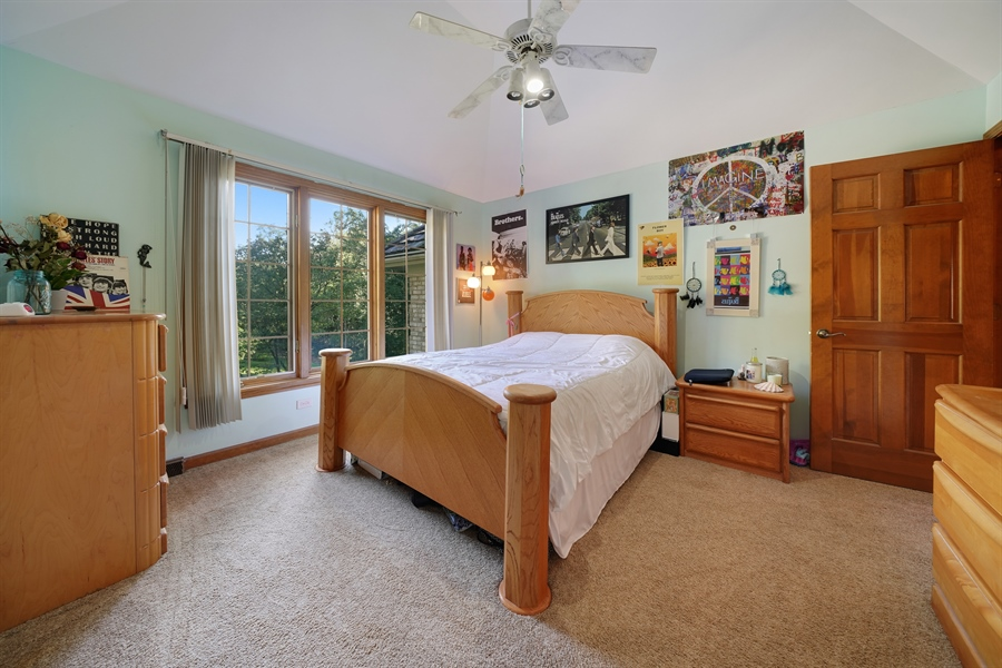 Real Estate Photography - 1278 Keim Trail, Bartlett, IL, 60103 - 2nd Bedroom