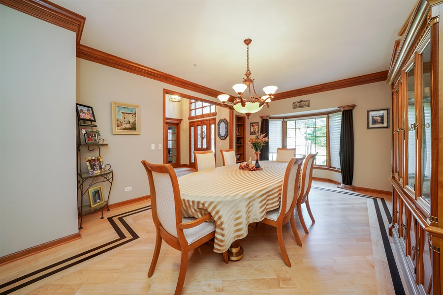 Real Estate Photography - 1278 Keim Trail, Bartlett, IL, 60103 - Dining Room