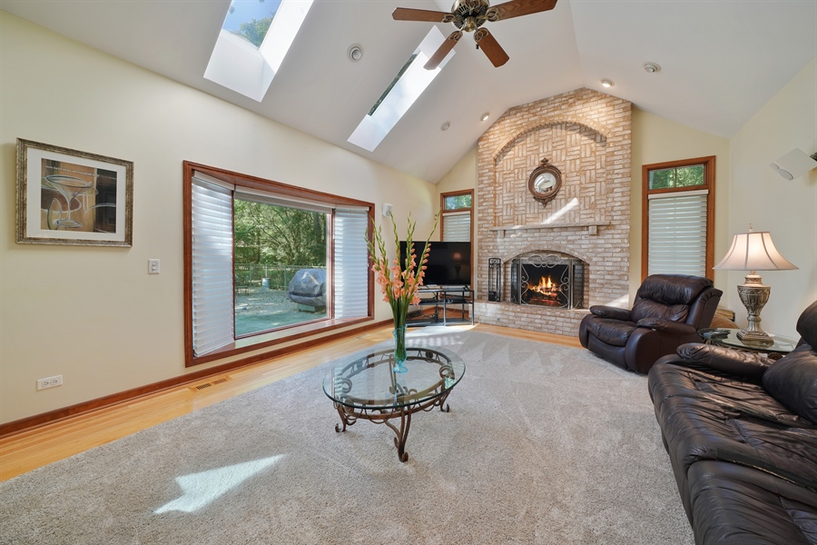 Real Estate Photography - 1278 Keim Trail, Bartlett, IL, 60103 - Family Room