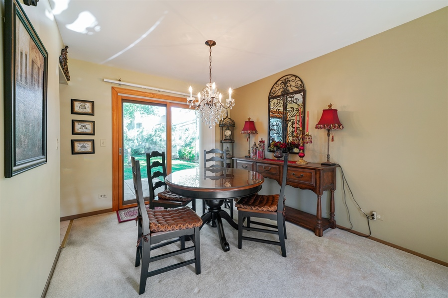 Real Estate Photography - 893 Colony Lake Drive, Schaumburg, IL, 60194 - Dining Room