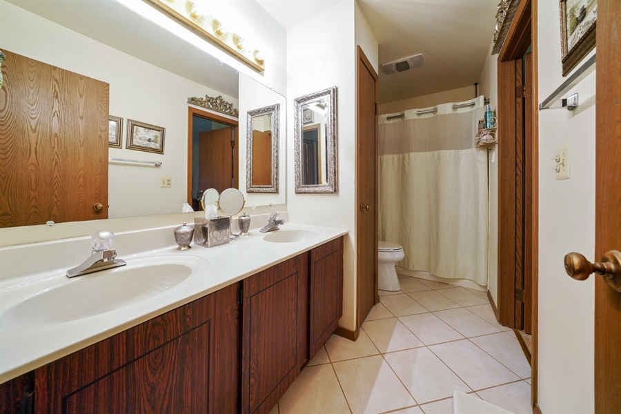Real Estate Photography - 893 Colony Lake Drive, Schaumburg, IL, 60194 - Bathroom
