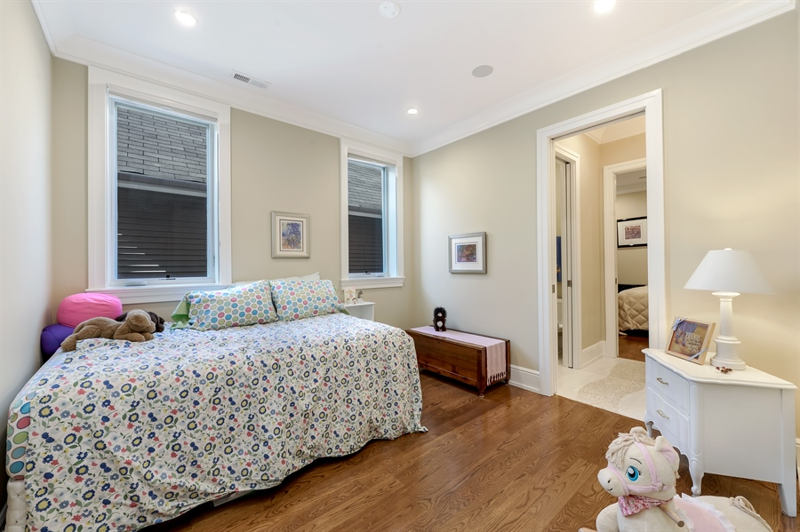 Real Estate Photography - 1330 W. School Street, Chicago, IL, 60657 - 3rd Bedroom
