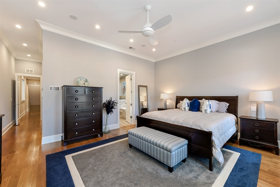 Real Estate Photography - 1330 W. School Street, Chicago, IL, 60657 - Master Bedroom