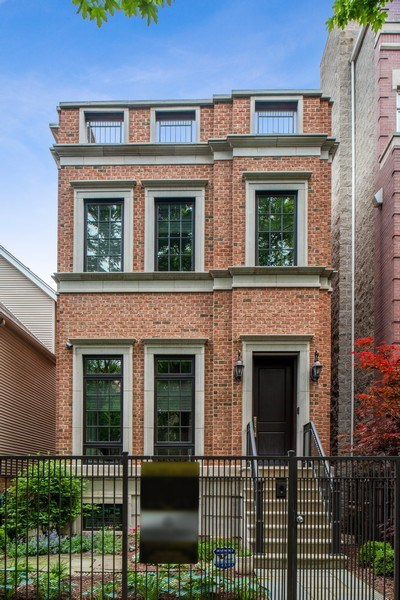 Real Estate Photography - 1330 W. School Street, Chicago, IL, 60657 - Front View