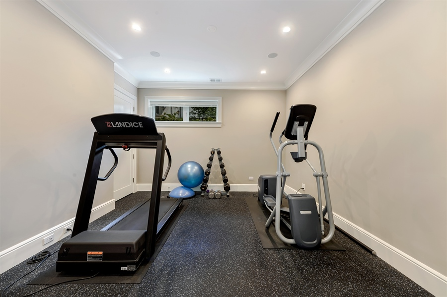 Real Estate Photography - 1330 W. School Street, Chicago, IL, 60657 - Fitness Room