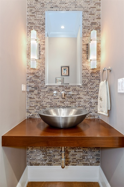Real Estate Photography - 1330 W. School Street, Chicago, IL, 60657 - Half Bath
