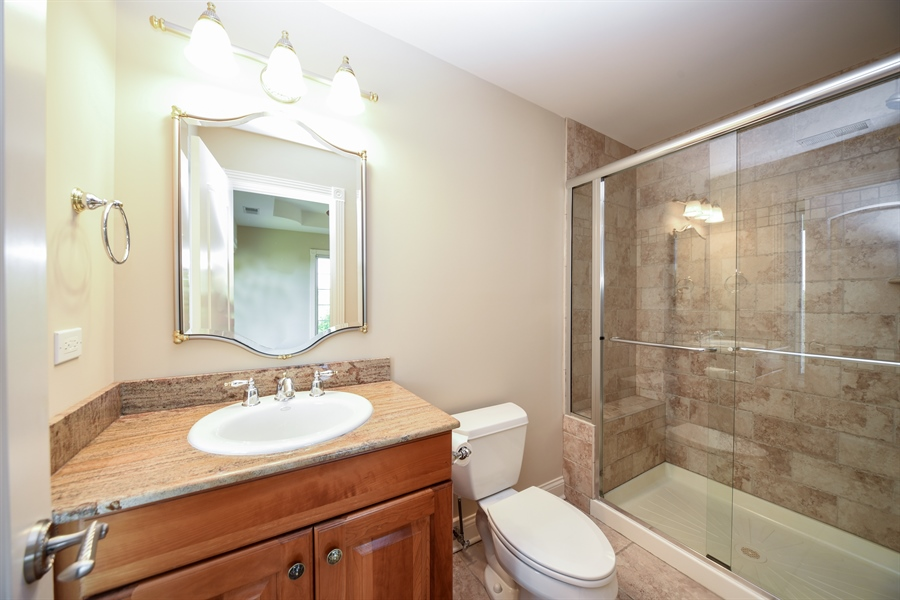 Real Estate Photography - 22220 N. PRAIRIE Lane, Kildeer, IL, 60047 - 3rd Bathroom