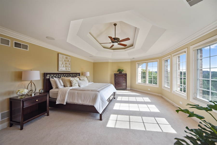 Real Estate Photography - 22220 N. PRAIRIE Lane, Kildeer, IL, 60047 - Master Bedroom