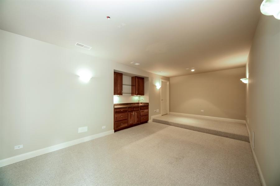 Real Estate Photography - 22220 N. PRAIRIE Lane, Kildeer, IL, 60047 - Media Room