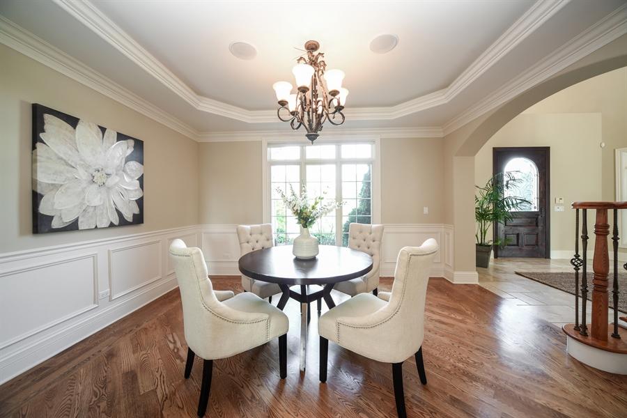 Real Estate Photography - 22220 N. PRAIRIE Lane, Kildeer, IL, 60047 - Dining Room