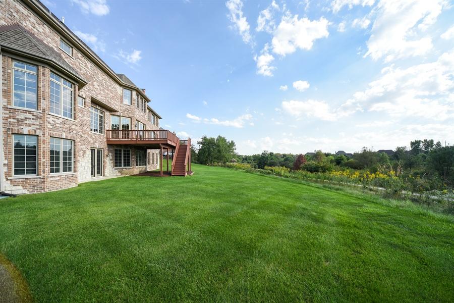 Real Estate Photography - 22220 N. PRAIRIE Lane, Kildeer, IL, 60047 - Back Yard