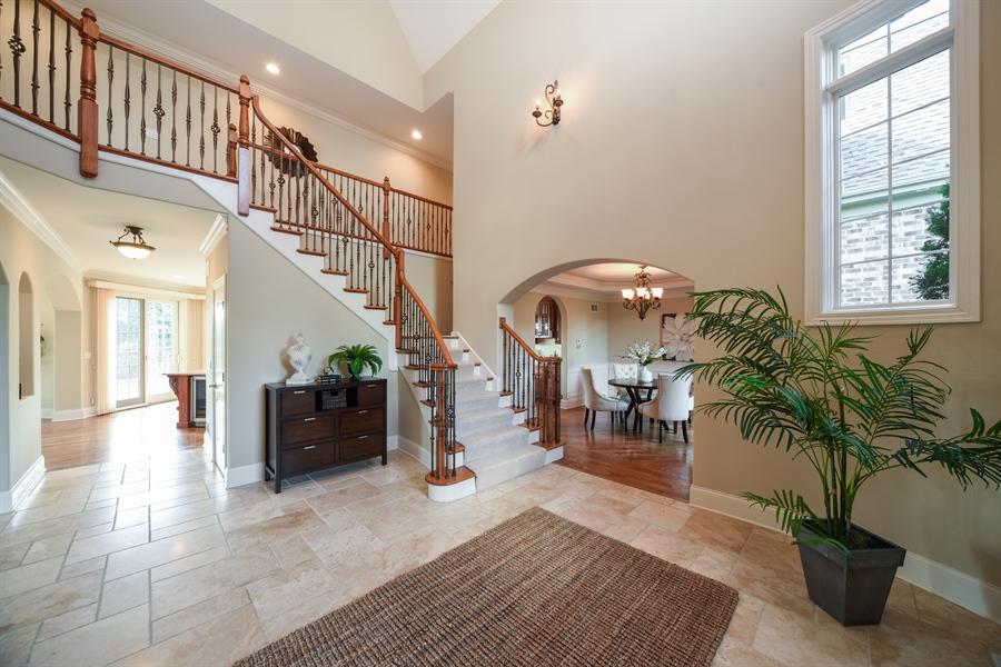 Real Estate Photography - 22220 N. PRAIRIE Lane, Kildeer, IL, 60047 - Foyer